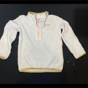 Juicy Couture White Girls 4T Top